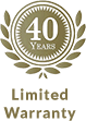 40 year Warranty logo