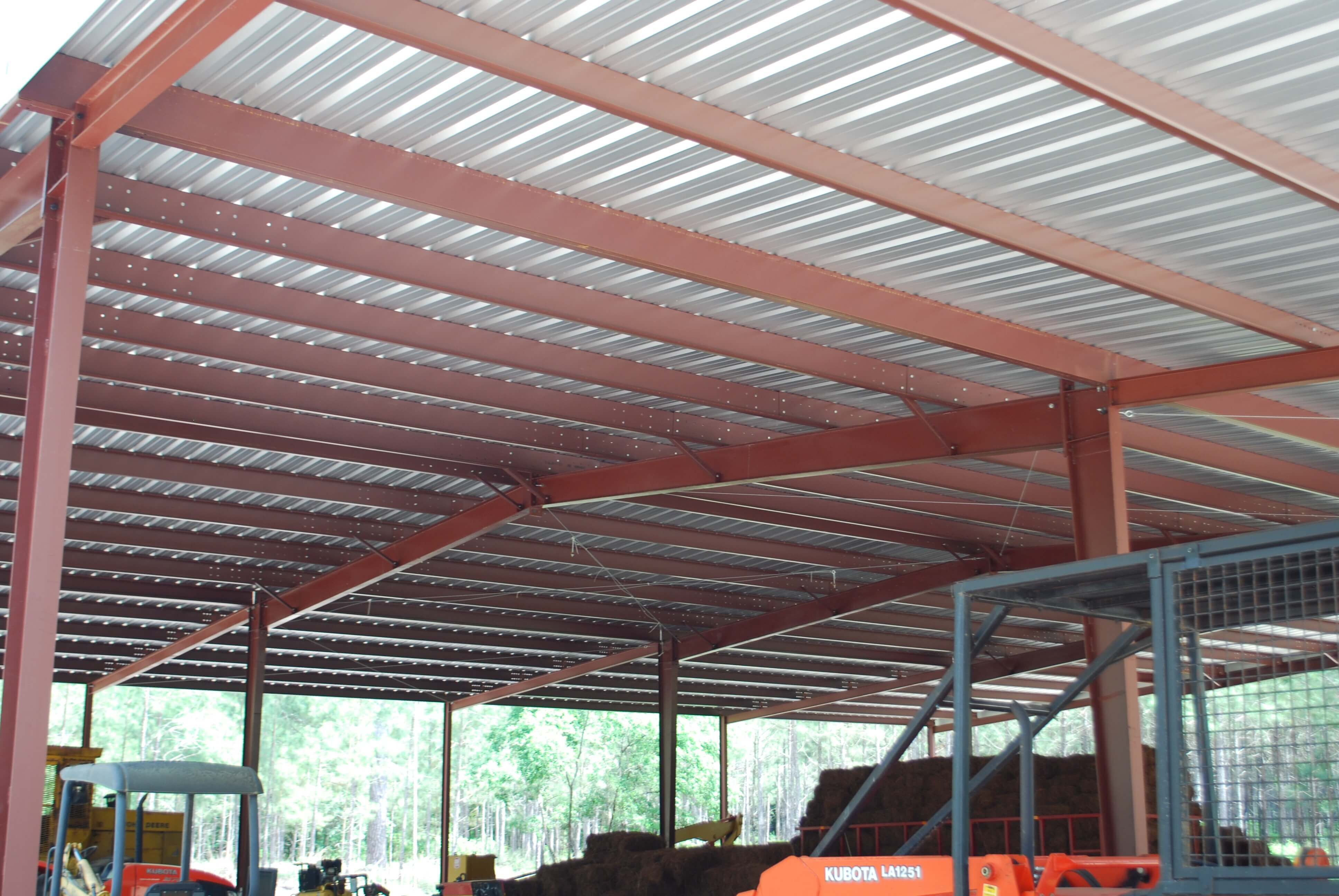 Construction Of Steel Buildings: Metal Agricultural & Commercial Buildings, Sheds, And Shelters